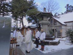 焼納祭神事