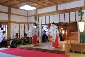 元年新嘗祭大和舞